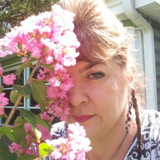 """Another Garden Visitor, """"Oleander-head Lady""""..."""