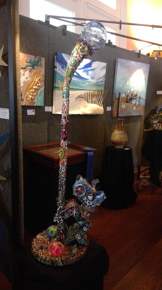 Art on the Island 3-D Art Show
