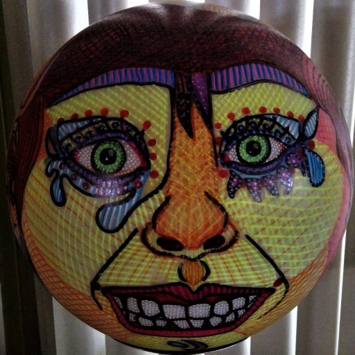 FRONT VIEW ( of a sphere?!?)