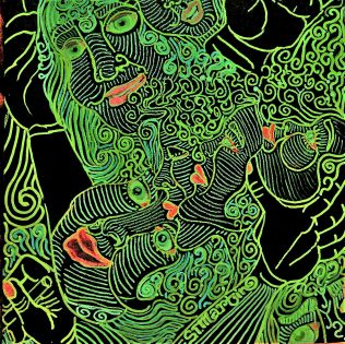 Feeling Green, marker on board©STMartin